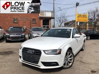 Used 2014 Audi A4 Leather*Sunroof*AWD*FullOpti*Warranty* for sale in York, ON