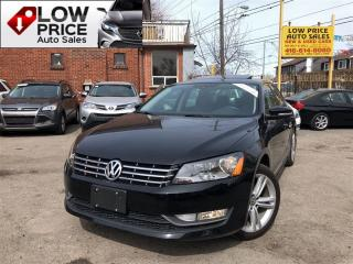 Used 2014 Volkswagen Passat Highline*Navi*Camera*PushStart&Warranty* for sale in York, ON