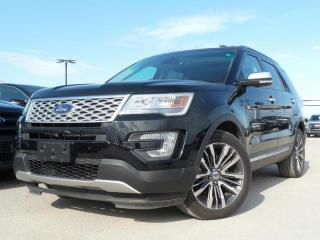 Used 2016 Ford Explorer *CPO* PLATINUM 3.5L V6 *1.9% *FREE WARRANTY* for sale in Midland, ON
