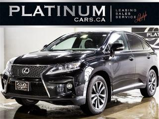 Used 2015 Lexus RX 350 F-SPORT, NAVI, HEADS UP DISP, BLINDSPOT, CAM for sale in North York, ON