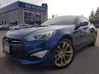 Used 2014 Hyundai Genesis Coupe R-Spec In Great Condition-Sunroof-Leather for sale in Mississauga, ON