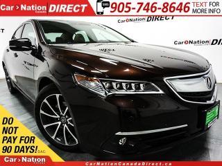Used 2015 Acura TLX Elite| AWD| NAVI| SUNROOF| LEATHER| for sale in Burlington, ON