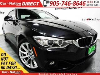 Used 2014 BMW 428i xDrive| SUNROOF| LEATHER| PUSH START| for sale in Burlington, ON