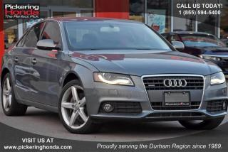 Used 2012 Audi A4 2.0T Prem Tiptronic qtro Sdn for sale in Pickering, ON