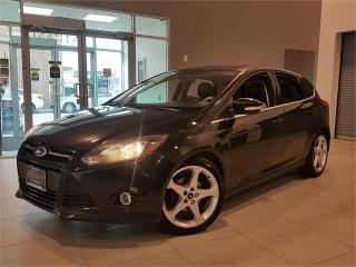 Used 2013 Ford Focus TITANIUM **LEATHER-ROOF-CAMERA-NEW BRAKES** for sale in York, ON