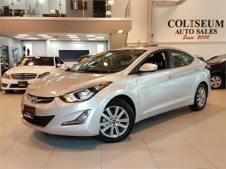 Used 2016 Hyundai Elantra SE-SPORT-AUTO-SUNROOF-CAMERA-ONLY 26KM for sale in York, ON