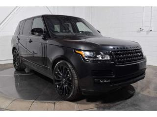 Used 2017 Land Rover Range Rover Awd V8 for sale in St-Constant, QC
