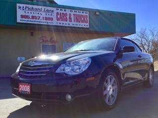 Used 2008 Chrysler Sebring Touring CONVERTIBLE!! LEATHER!! REVERSE CAMERA!! HEATED SEATS & SO MUCH MORE!! for sale in Bolton, ON