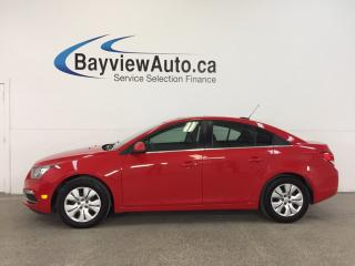 Used 2016 Chevrolet Cruze LT- TURBO|REM STRT|HITCH|ROOF|REV CAM|PIONEER! for sale in Belleville, ON