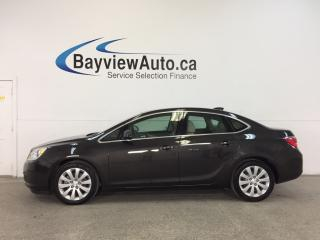 Used 2016 Buick Verano - ALLOYS|LEATHER TRIM|ON STAR|CRUISE|LOW KM! for sale in Belleville, ON