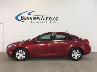 Used 2014 Chevrolet Cruze 1LT- TURBO|REM STRT|A/C|ON STAR|CRUISE! for sale in Belleville, ON