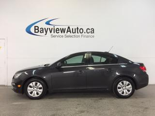 Used 2016 Chevrolet Cruze 1LT- TURBO|REM STRT|MY LINK|REV CAM|CRUISE! for sale in Belleville, ON