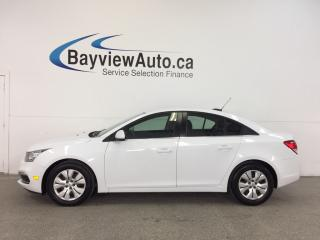 Used 2016 Chevrolet Cruze 1LT- TURBO|REM STRT|A/C|MY LINK|REV CAM|CRUISE! for sale in Belleville, ON
