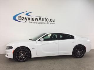 Used 2017 Dodge Charger R/T- HEMI|REM STRT|SUNROOF|LTHR|NAV|BSA|ACC|BEATS! for sale in Belleville, ON