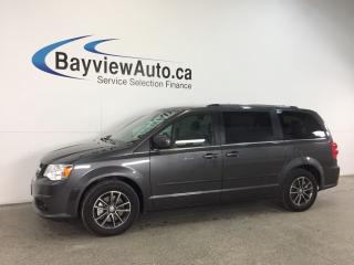 Used 2017 Dodge Grand Caravan SE- ALLOYS|DVD|NAV|REV CAM|PWR DOORS|UCONNECT! for sale in Belleville, ON