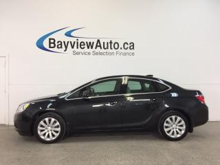 Used 2015 Buick Verano - REM STRT|ALLOYS|DUAL CLIM|REV CAM|INTELLILINK! for sale in Belleville, ON