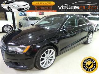 Used 2015 Audi A3 2.0 TDI| TECHNIK| NAVIGATION| 49KM for sale in Woodbridge, ON