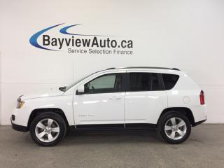 Used 2014 Jeep Compass NORTH- 4x4|REM STRT|ALLOYS|SUNROOF|UCONNECT|A/C! for sale in Belleville, ON