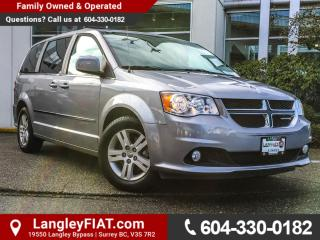 Used 2016 Dodge Grand Caravan Crew NO ACCIDENTS, B.C OWNED for sale in Surrey, BC