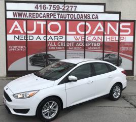 Used 2017 Ford Focus SE-ALL CREDIT ACCCEPTED for sale in Scarborough, ON