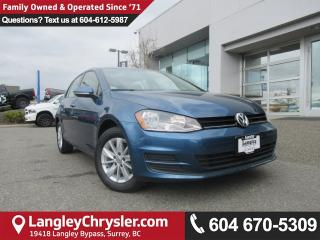 Used 2017 Volkswagen Golf 1.8 TSI Comfortline <b>*TOUCHSCREEN MEDIA*BACKUP CAMERA*HEATED SEATS*<b> for sale in Surrey, BC