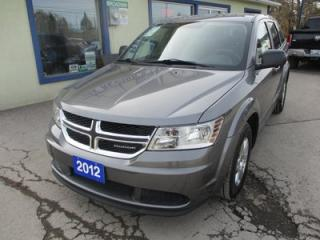 Used 2012 Dodge Journey FAMILY MOVING SE MODEL 5 PASSENGER 2.4L - DOHC.. CD/AUX/USB INPUT.. BLUETOOTH SYSTEM.. KEYLESS ENTRY & START.. for sale in Bradford, ON