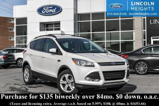 Used 2016 Ford Escape SE 4WD - BLUETOOTH - REAR PARKING SENSORS for sale in Ottawa, ON