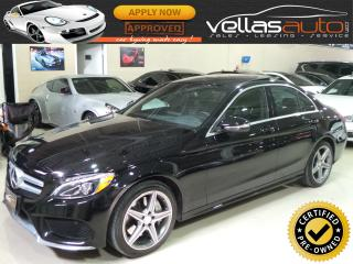 Used 2015 Mercedes-Benz C-Class C300 4MATIC| NAVI| AMG SPORT PKG| PANO RF for sale in Woodbridge, ON