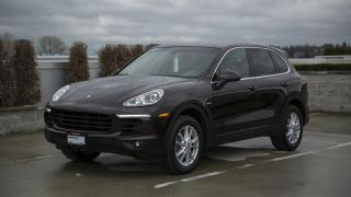 Used 2016 Porsche Cayenne DIESEL for sale in Vancouver, BC