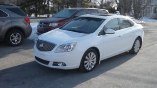 Used 2013 Buick Verano Cuir,t.ouvrant,navig for sale in Salaberry-de-valleyfield, QC
