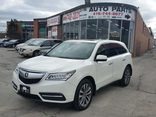 Used 2015 Acura MDX Nav Pkg for sale in Etobicoke, ON