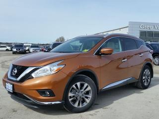 Used 2017 Nissan Murano SL AWD w/all leather,NAV,panoramic roof,heated seats,rear cam,pwr group for sale in Cambridge, ON