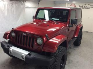 Used 2011 Jeep Wrangler SAHARA 2 TOITS for sale in L'ancienne-lorette, QC