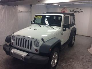 Used 2011 Jeep Wrangler SPORT for sale in L'ancienne-lorette, QC