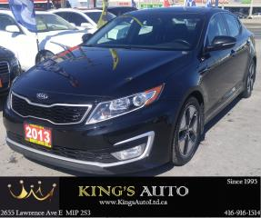 Used 2013 Kia Optima HYBRID EX LOADED, HEATED/COOLED SEATS for sale in Scarborough, ON