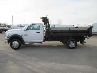 Used 2015 RAM 5500 SLT,REG CAB.11 FT.DUMP BODY. for sale in London, ON