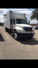 Used 2009 International 4400 Box truck for sale in London, ON