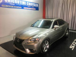 Used 2015 Lexus IS 350 Berline 4 portes traction intégrale for sale in Chicoutimi, QC
