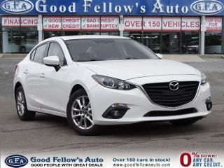 Used 2014 Mazda MAZDA3 GS-SKY MODEL, SUNROOF,REARVIEW CAMERA,HEATED SEATS for sale in North York, ON