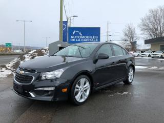 Used 2016 Chevrolet Cruze LT RS for sale in Chateau-richer, QC