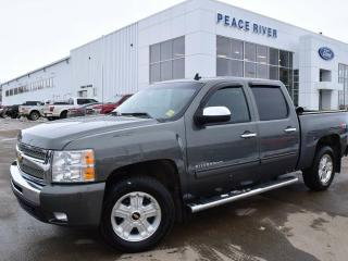 Used 2011 Chevrolet Silverado 1500 LT 4x4 Crew Cab 5.75 ft. box 143.5 in. WB for sale in Peace River, AB