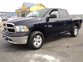 Used 2017 RAM 1500 SXT CrewCab 4X4 5.5ftBox 5.7L Hemi for sale in Brantford, ON