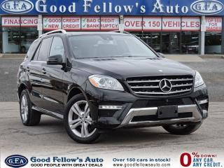 Used 2014 Mercedes-Benz ML 350 ML350 4MATIC, 6CYL 3.0 LITER DIESEL for sale in North York, ON