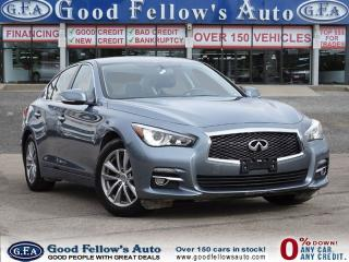Used 2014 Infiniti Q50 PREMIUM PKG, AWD, LEATHER SEATS, NAVIGATION for sale in North York, ON
