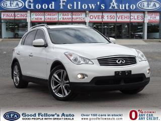 Used 2014 Infiniti QX50 AWD, LEATHER SEATS, SUN ROOF, NAVIGATION for sale in North York, ON