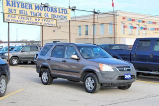 Used 2004 Honda CR-V EX for sale in Brampton, ON