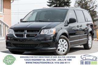 Used 2016 Dodge Grand Caravan CANADA VALUE PACKAGE for sale in Caledon, ON