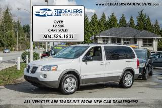 Used 2008 Pontiac Montana SV6 Van, iPod, Power Group, No Accidents, Clean! for sale in Surrey, BC