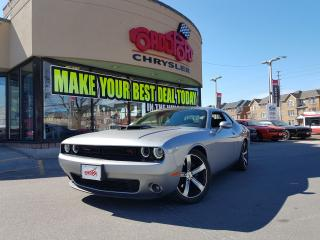 Used 2017 Dodge Challenger R/T SHAKER 6 SPEED P-ROOF CO CAR NAVI for sale in Scarborough, ON
