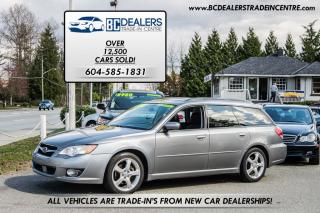 Used 2008 Subaru Legacy 2.5i Wagon AWD, Pano Roof, Bluetooth + Navigation for sale in Surrey, BC